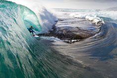 Tasmània, Surf, Michael Hoult, Stuart Gibson i una Nikon