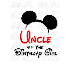 Disney+Iron+On+Transfer+Uncle+Of+Birthday+by+BrightLifePrintables,+$4.00