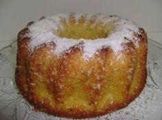 Receita Sobremesa : Bolo de flocão de milho com coco de Tania z