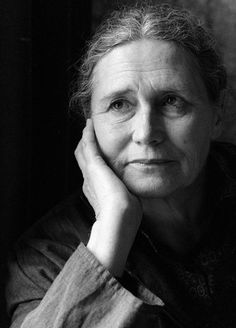 Doris Lessing British novelist, poet, playwright, librettist, biographer and short story writer. She won the Nobel prize for Literature in Story Writer, Book Writer, Book Authors, Books, Writers And Poets, Nobel Prize In Literature, Nobel Prize Winners, Playwright, Portraits