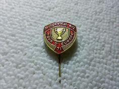Vintage Russia/Russian Tour D' Europe 1971 Soviet Union pin badge Pins Badge, Europe, Soviet Union, Class Ring, Russia, Vintage, Rings, Ebay, Ring
