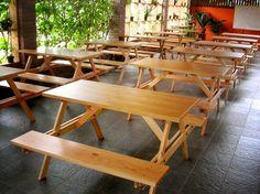 Jati Furniture Minimalis: MEJA TAMAN