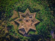 A Bucket List of Star Cities Scattered Across our Globe Atlantis, Aliens, Star Fort, Mystery, Medieval, History Of India, Fortification, Karnataka, Abandoned Places