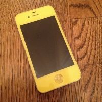 Yellow iPhone (Color Conversion)