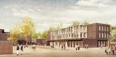 Gelehrtenschule des Johanneums Hamburg | HS Architekten | Nadine Kuhn Visualisierung