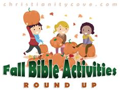 As fall draws near, it's time to get ready for all of our favorite fall pastimes – crafts, games and the many important lessons that the change of seasons has to offer us.  Why not add a few of these Fall Bible activities to your fall fun!