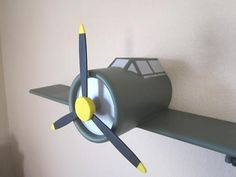 Dresden loves planes, this would look cool in his room. Something Dresden and his dad can do together when he gets older.
