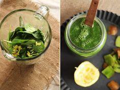 Spinat/kiwi smootie