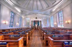 Kahal Kadosh Beth Elohim - First Reform Temple.  Charleston, South Carolina.