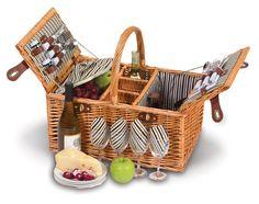 Dilworth 4 Person Picnic Basket | Picnic Plus