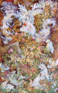 Tarot, Potions, and Psychedelic Magick Spells: Mahmoud Farshchian