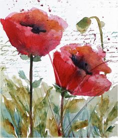 Martha Lever: Poppies