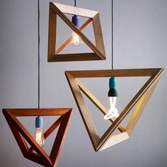 Modern-Geometric-Wooden-Pendant-Light-Design-for-Charming-Interior Forecasting the Hottest Trends in Home Decoration 2017 . Deco Luminaire, Luminaire Design, Deco Design, Wood Design, Sky Design, House Design, Interior Lighting, Home Lighting, Club Lighting