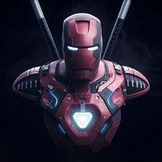 Iron Man Dead Force Armor by Tolga Darende