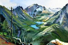 Jan Cook Mack, Wedge Mountain