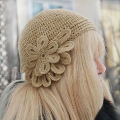 Crochet Flowers for Hats | crochet flower hat