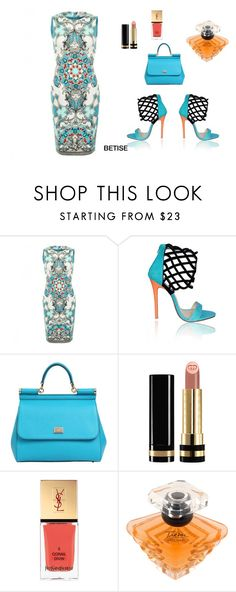 """MULTICOLOR !!!!! ❤️"" by betty-sanga ❤ liked on Polyvore featuring Versace, Dolce&Gabbana, Gucci, Yves Saint Laurent and Lancôme"