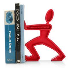 BOOKEND JAMES BLACK+BLOOM RED BLACK BLUE UNIQUE GIFT IDEA DESIGNER BOOK END #BLACKBLUM