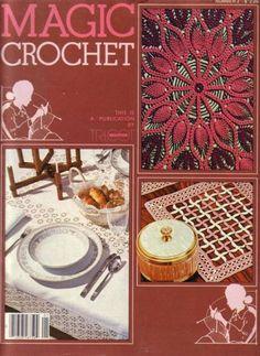 MAGIC CROCHET Nº 2 - Marcela Nagy - Álbuns da web do Picasa...MAGAZINE,PATTERN INSTRUCTIONS AND DIAGRAMS!!