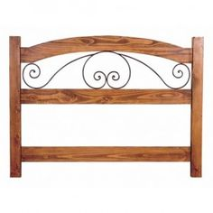 Rustic Iron And Solid Wood Headboards
