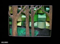 new_sculpture: Lisa and Scott Cylinder Art Jewelry.