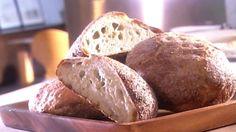 Recette de pain sans pétrissage.