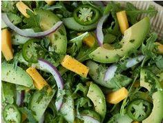 Salad with Avocado.