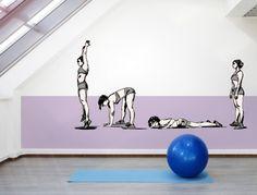 Die 62 Besten Bilder Von Fitness Wandtattoos