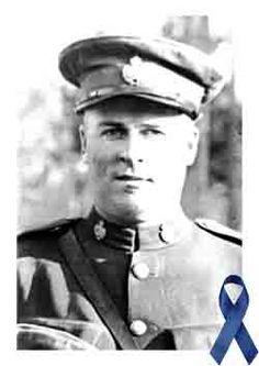 Constable John Montgomery  February 20, 1908 - July 31, 1931