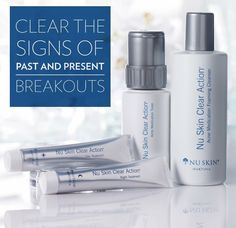 Details about nu skin clear action acne medication system Nu Skin, Oily Skin Care, Healthy Skin Care, Skin Care Routine 30s, Action, Beauty Care, Beauty Box, Clear Skin, Beauty Secrets