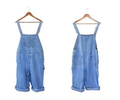 Plus Size Overall XL Overall Women Denim by TheVilleVintage, $47.99