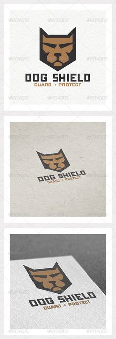 Buy Dog Shield Logo Design by MJGDesigns on GraphicRiver. Man's best friend is presented in this logo in the shape of a shield and will keep those unwanted visitors away. Dog Logo, Bear Logo, Funny Dog Faces, Dog Quotes Funny, Pet Memes, Security Logo, Hot Dog Stand, Shield Logo, Logo Design Template