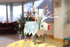 Un joli papercraft de Tearaway qui correspond tout à fait à la saison hivernale qui nous attend ;)