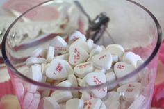 "#candy hearts ""no boys allowed"" #bachelorette ideas"