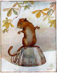 "Margaret Tarrant.Alice in Wonderland 1921  ""Where did I put the........."" 2012"