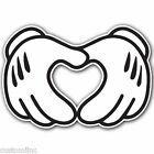 heart detail Details about Heart 2 WHITE Sticker Bomb Decal Car Macbook Laptop Funny Hoonigan Ken Block JDM Mickey Mouse Wallpaper, Disney Wallpaper, Cute Disney, Disney Cars, Mickey Mouse Kunst, Caligraphy Alphabet, Mickey Hands, Macbook Laptop, Macbook Sticker