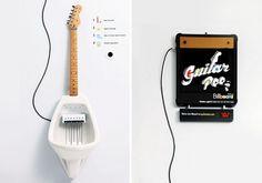 Ça vous dirait de jouer un solo de guitare en faisant pipi ?