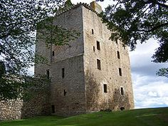David's Tower at Spynie Palace. Spynie was founded by Bishop Brice. Ratified by Pope Innocent III about 1214. Prior to this each Bishop had chosen one of the 3 churches of Birnie, Spynie or Kenedor as his episcopal seat.