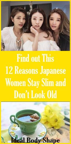 12 Reasons Japanese Women Stay Slim and Don't Look Old - Ideal Shape Body Home Beauty Tips, Natural Beauty Tips, Beauty Tricks, Beauty Secrets, Diy Beauty, Health Tips For Women, Health And Beauty Tips, Health Advice, Health Care