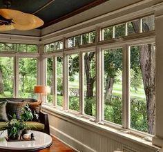 Luxury Vinyl Windows Sunroom