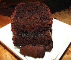 Bizcocho de Chocolate y Calabacín Sin Azúcar