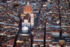 Florence - Bird's eye view  | by © Firenzesca | via allthingseurope