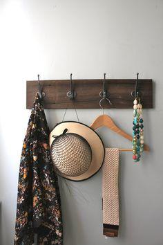Reclaimed Barn Wood Coat Rack by bluebirdheaven on Etsy, $46.00