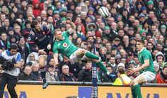 #RBS6Nations Irlanda [19-9] França. Aviva Stadium / Lansdowne Road Stadium. Keith Earls. Camille Lopez