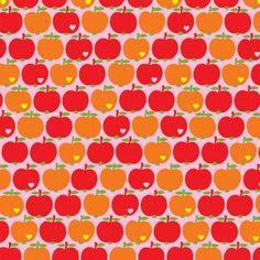Apfel Jersey orange/rot