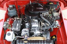 1977 TOYOTA LAND CRUISER FJ-40 2 DOOR HARDTOP - Engine - 177438