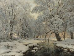 Winter in the Forest, Constantin Alexandrovich Westchiloff