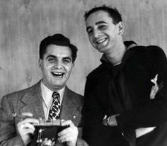 Jack Kirby and Joe Simon,the creators of Captain America in 1941. This duo would create and illustrate tons of stories. They were one of the best creative duos of the Golden-Age of Comics.