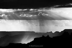 "Virga Mistique, Instagram post date: 02-08-2017 - ""Virga Mistique"" Virga – rain that doesn't touch the ground – makes for a dramatic photo in this black and white image from @grandcanyonnps in Arizona during an afternoon storm in the summer. #celebrateart #celebrationoffineart #arizona  #fineartphotographer #fineart #fineartist #fineartphotography #blackandwhite #blackandwhitephotography #blackandwhitechallenge #blackandwhiteonly #virga #storm #s"