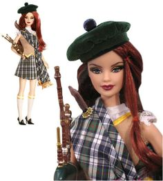 2008 - Scotland Barbie... well... I guess everyone wants a touch of the Scot... why not Barbie